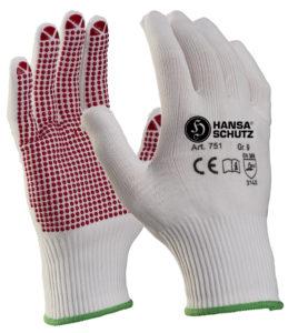 Hansaschutz 751 Noppen Handschuhe