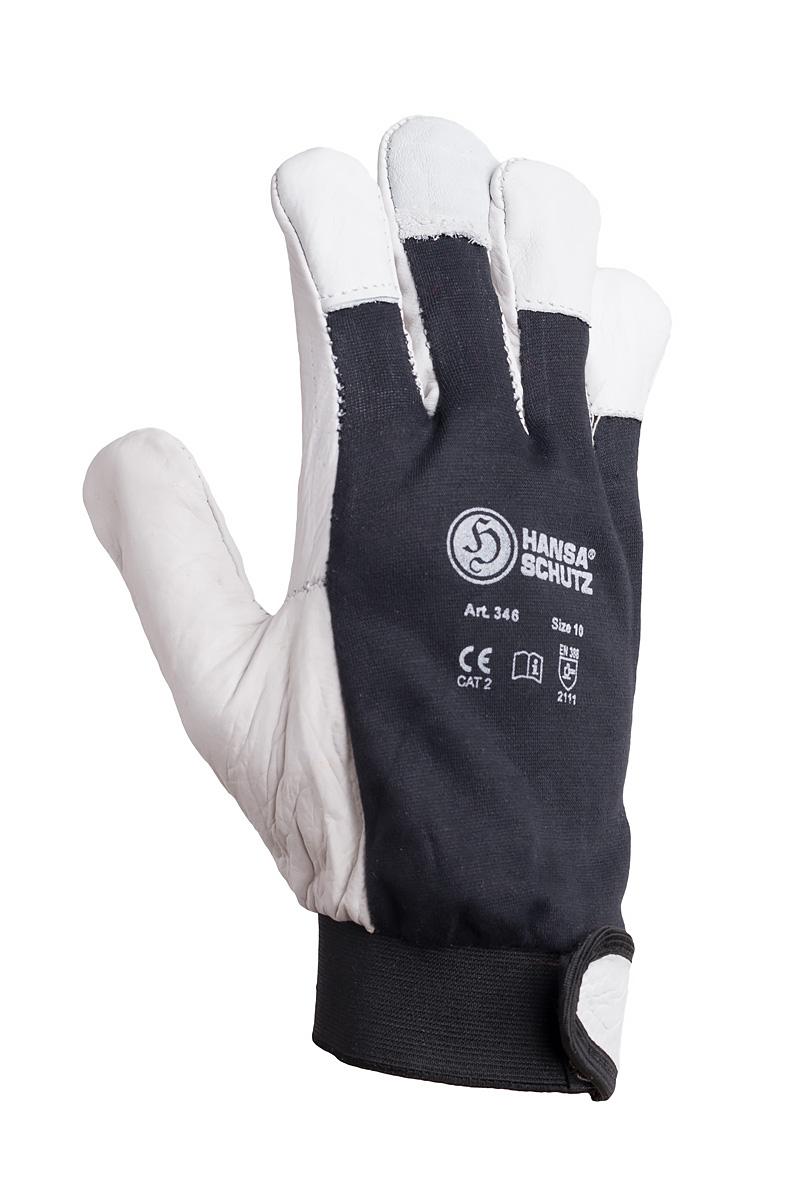 Hansaschutz Narbenleder Handschuhe 363