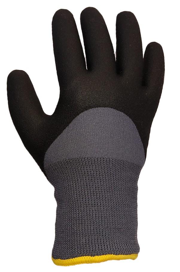 879b Winter PVC glove